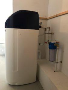 Installation d'un adoucisseur d'eau IDRIANA