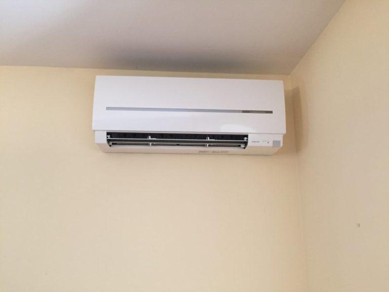 Climatisation d'un séjour en rénovation