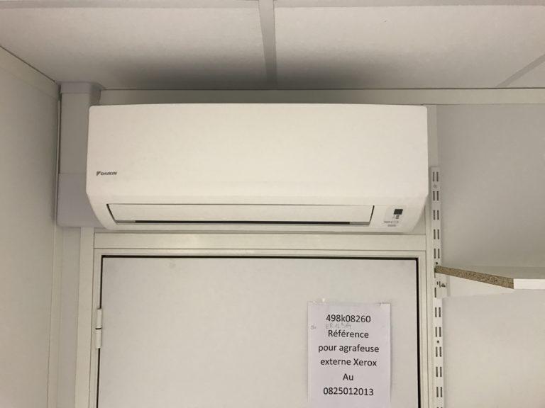Climatisation d'un local informatique