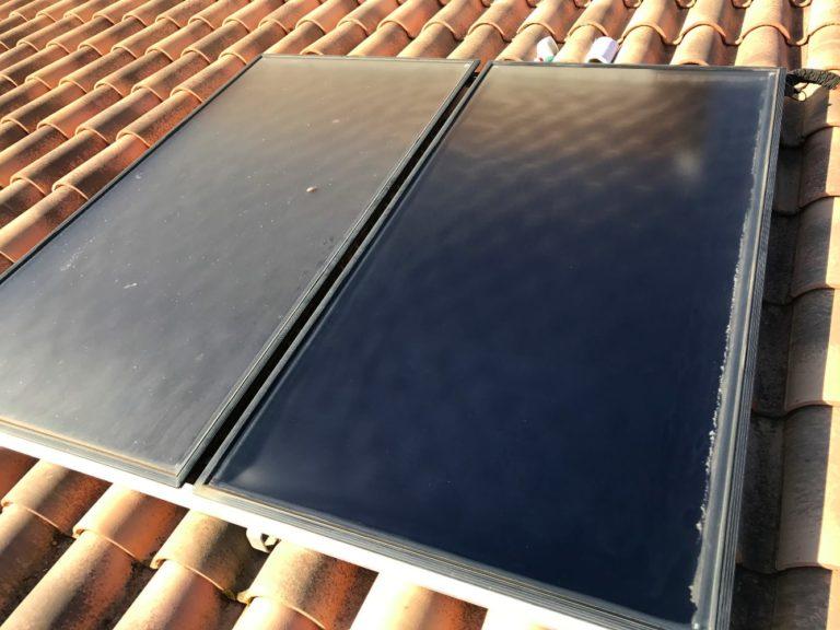 Nettoyage capteurs solaires